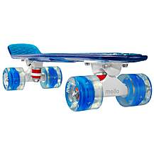 "image of Mello LED 22"" Cruiser Skateboard - Blueberry"