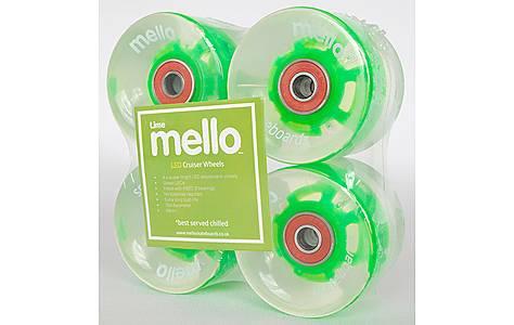 image of Mello LED 59mm Wheel Set - Lime