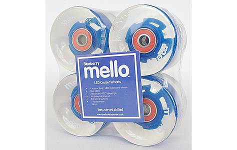 image of Mello LED 59mm Wheel Set - Blueberry