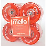 image of Mello LED 59mm Wheel Set - Raspberry