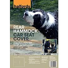image of Halfords Rear Hammock Car Seat Cover