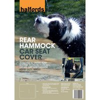 Halfords Rear Hammock Car Seat Cover