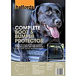 image of Halfords Complete Boot and Bumper Protector