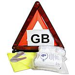 Halfords Motoring Abroad Kit With Handy Storage Bag