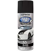 image of Rust-Oleum Peel Coat 400ml Spray - Black
