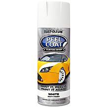 image of Rust-Oleum Peel Coat 400ml Spray - White