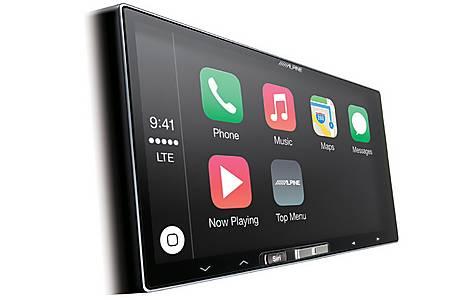 image of Alpine ILX-700 Car Stereo with Apple CarPlay