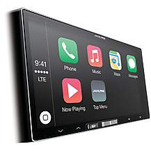 image of Alpine ILX-700 Car Stereo with Apple CarPlay