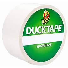image of Snowflake Duck Tape 48mm x 9.1m