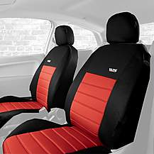 image of Ripspeed Car Seat Covers Front Pair - Red