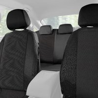 Halfords Car Seat Covers Set - Grey Spot Pattern