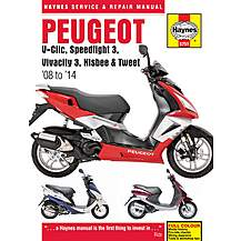 image of Haynes Peugeot V-Clic Manual