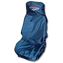 image of Action Sport 4x4 Car Seat Protector - Front, Blue