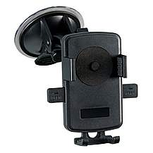 image of Halfords One Touch Universal Car Mount Holder - Black