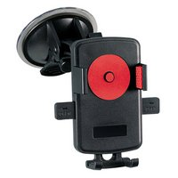 Halfords One Touch Universal Car Mount Holder - Red
