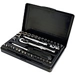 image of Halfords Advanced 36 Piece Socket Set 1/4""