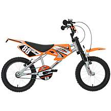 image of Motobike MXR450 Kids Bike - 16""