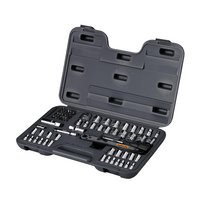 "Halfords 65 Piece Socket Set 1/4"" 3/8"""