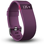 image of Fitbit Charge HR Heart Rate and Wireless Activity Wristband - Small (Plum)