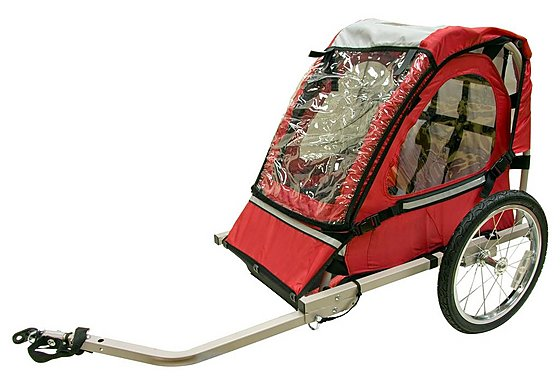 Halfords Single Buggy Child Bike Trailer
