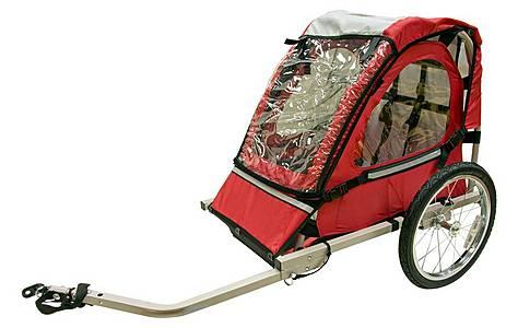 image of Halfords Single Buggy Child Bike Trailer