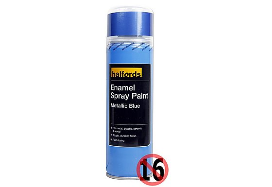 Blue Spray Paint Halfords