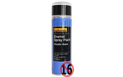 Black Spray Paint Site Halfords Com