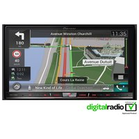 Pioneer AVIC-F77DAB Car Stereo with Apple CarPlay and Android Auto