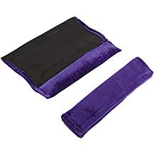 image of Purple Seat Belt Pads - Pair of 2