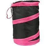 image of Pop Up Storage Bin Pink/Black