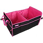 image of Boot Organiser Pink/Black