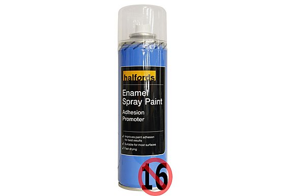 Halfords Enamel Paint Adhesion Promoter Spray 300ml
