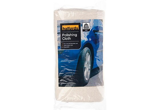 Halfords Car Polishing Cloth 400g