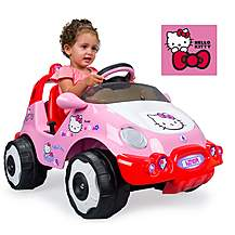image of Injusa Hello Kitty 6V Electric Ride On Car