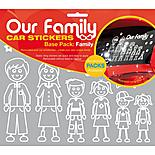 Our Family Car Sticker Base Pack
