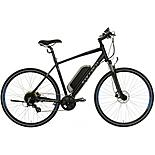 "Carrera Crossfire-E Mens Electric Bike - 17"", 19"", 21"" Frames"