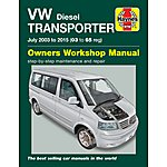 image of Haynes VW Transporter T5 Diesel (03-14) Manual