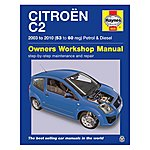 image of Haynes Citroen C2 Petrol & Diesel (03-10) Manual