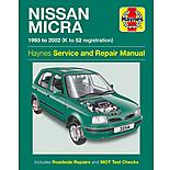 Haynes Nissan Micra (93 - 02) Manual