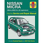 image of Haynes Nissan Micra (93 - 02) Manual