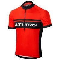 Altura Sportive Men's Short Sleeve Jersey - Black & Red, Medium