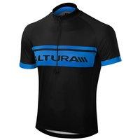 Altura Sportive Men's Short Sleeve Jersey - Black & Blue, Medium