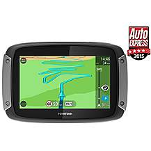 """image of TomTom Rider 400 EU 4.3"""" Motorcycle Sat Nav with Lifetime European Maps and Traffic"""
