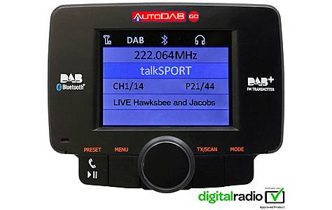 image of Connects 2 AutoDAB Digital Radio Adaptor