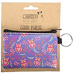 image of Purple Owl Coin Purse