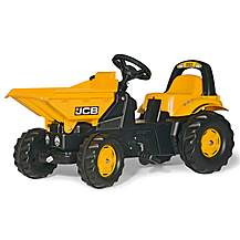 image of Robbie Toys JCB Dumper Pedal Ride On