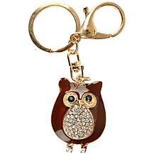 image of Owl Charm Keyring