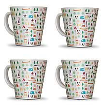 image of Olpro Berrow Hill Melamine Mugs x 4