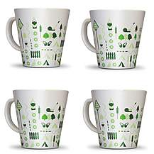 image of Olpro Bewdley Melamine Mugs x 4