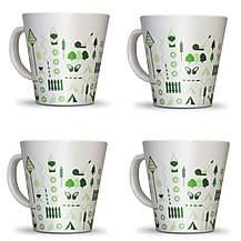 image of Olpro Bewdley Melamine Mugs x 4